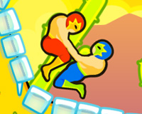 Wrestle Jump - Free online game on A10.com